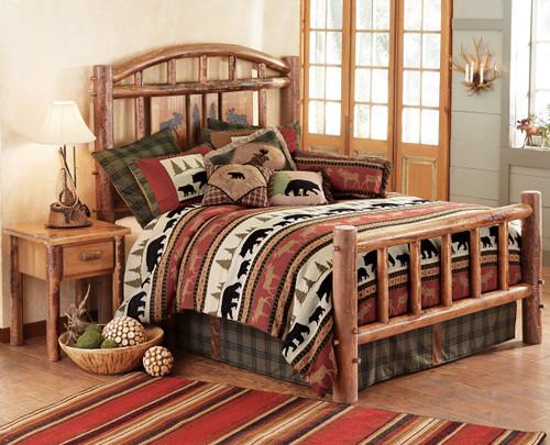 Moose Creek Log Bedroom Furniture