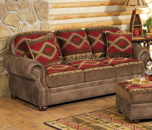 Northern Trails Bear Sofa