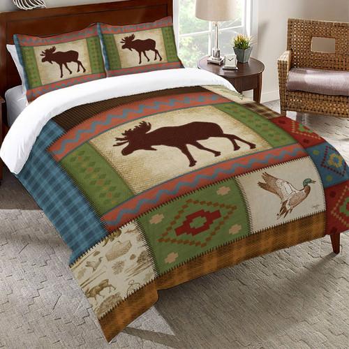 Mableton Moose Comforter - Queen