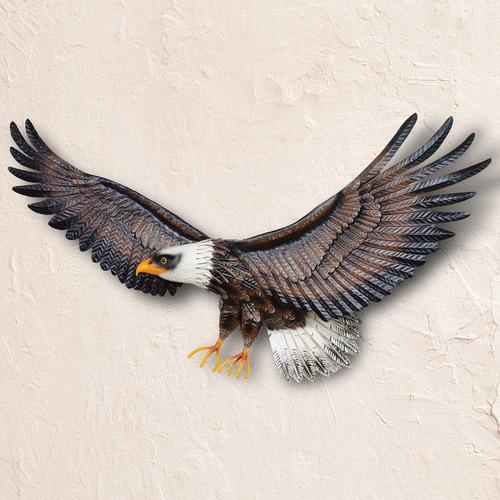 Majestic Eagle Metal Wall Art