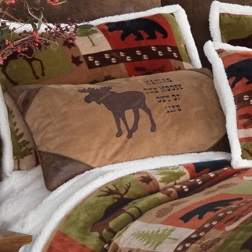 Making the Moose Out of It Pillow