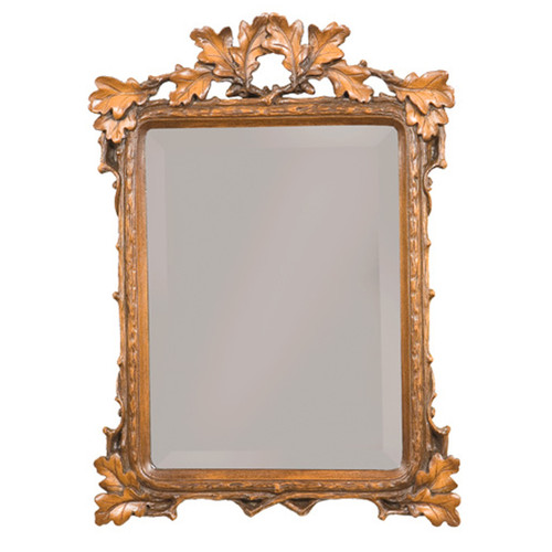 Maple Carved Wall Mirror