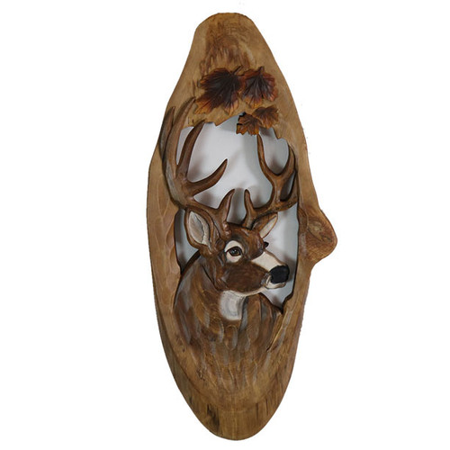 Maple Deer Wood Wall Art