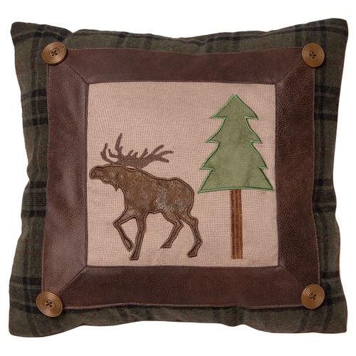 Meandering Moose Pillow