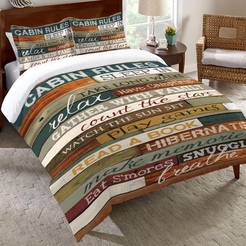 Cabin Getaway Bedding Collection