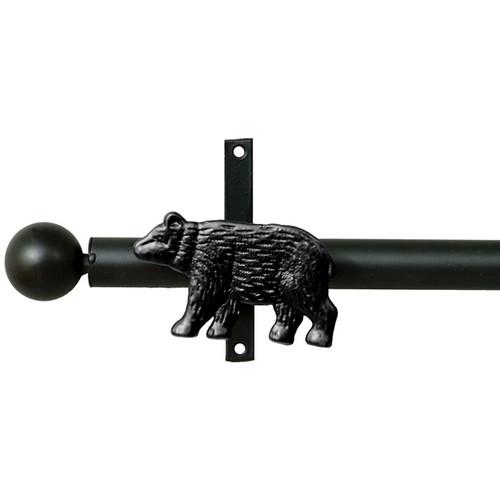 Bear Metal Curtain Rod