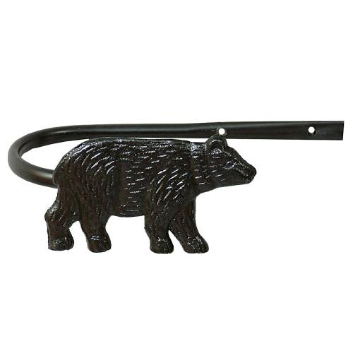 Bear Metal Tie Backs (Set of 2)
