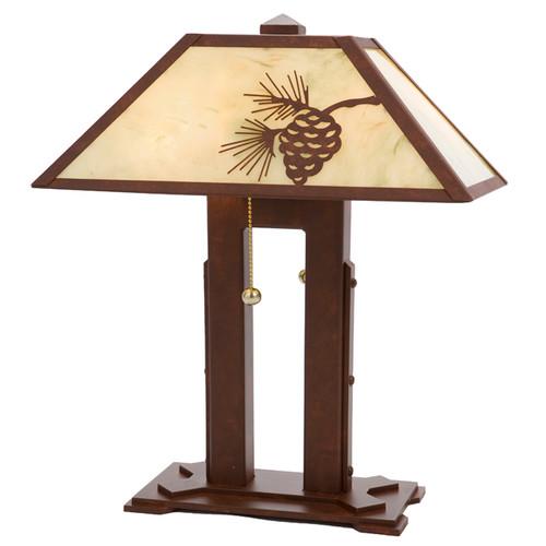 Mission Double Desk Lamp