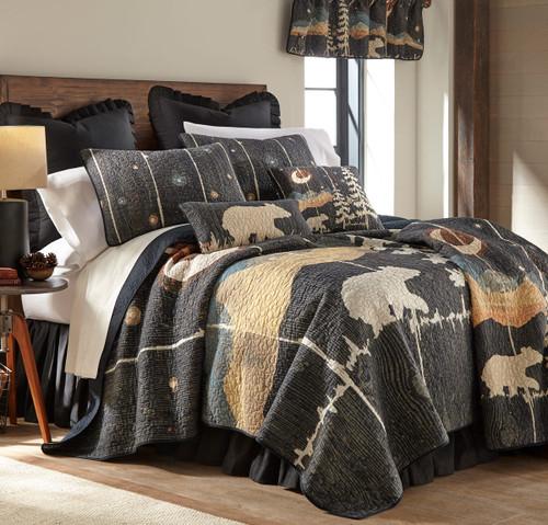 Celestial Bear Quilt Bedding Collection