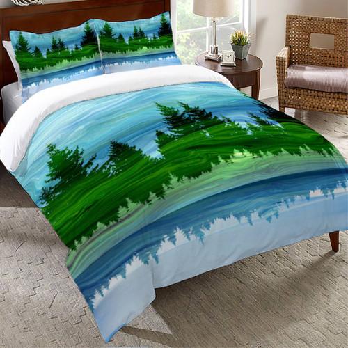 Mirage Forest Comforter - Queen