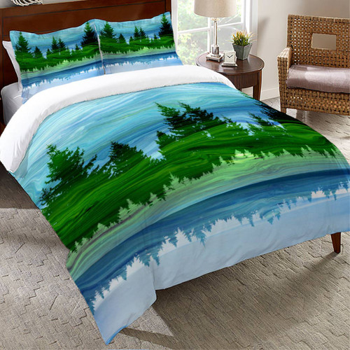 Mirage Forest Comforter - Twin