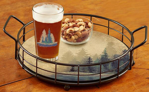 Misty Forest Serving Tray