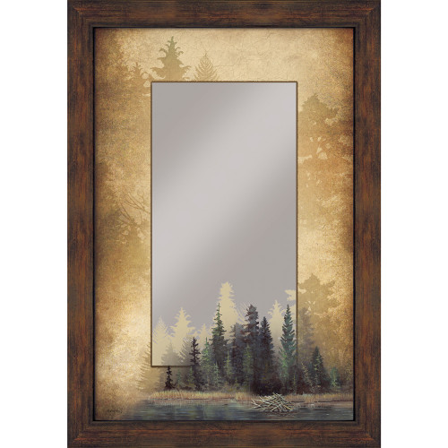 Misty Forest Wall Mirror