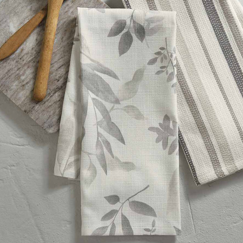 Misty Leaves Dishtowels - Set of 6