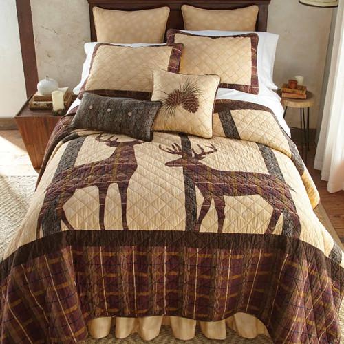 Tan Sponged Gathered Bedskirts