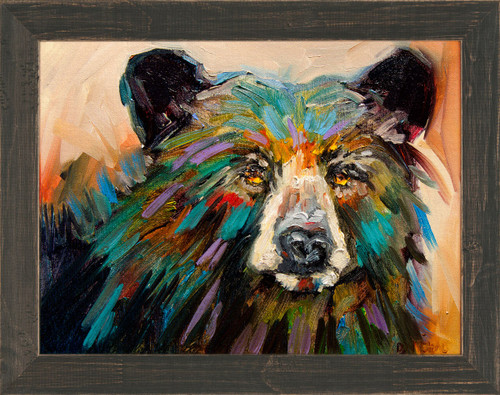 Modern Bear Framed Print