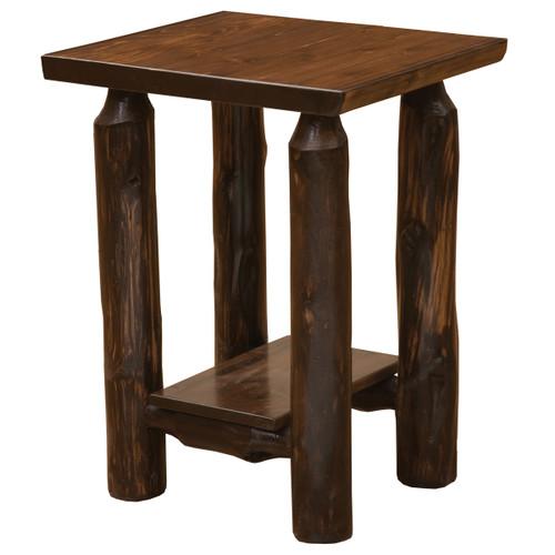 Modern Cedar Open Nightstand