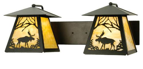 Moose Lantern Vanity 2-Light