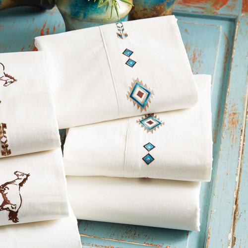 Embroidered Southwest Sheet Sets
