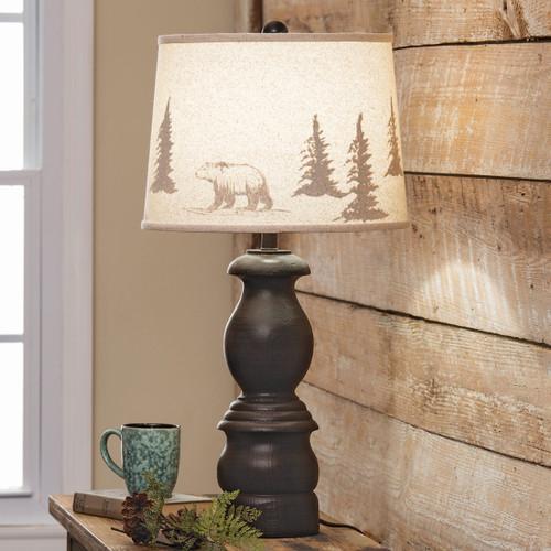 Montana Bear & Tree Table Lamp
