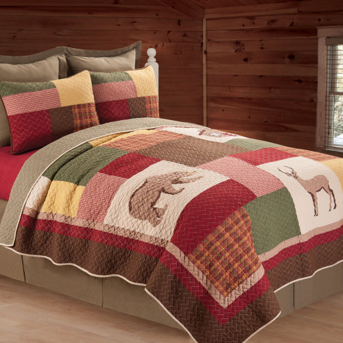 Friendly Forest Quilt Bedding Collection