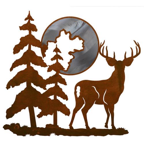 Moonlight Deer Wall Art