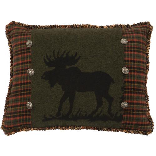 Moose 1 Rectangle Pillow