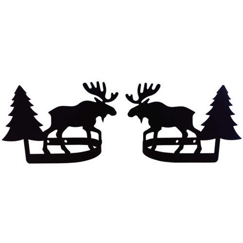 Moose & Pine Curtain Tie Backs