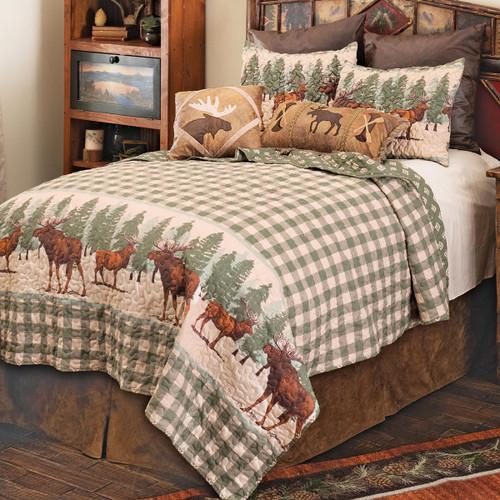 Moose Bend Quilt Set - Twin - OVERSTOCK