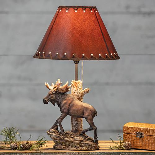Moose Climb Table Lamp
