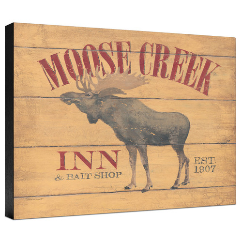 Moose Creek Gallery Wrapped Canvas