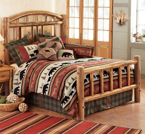Moose Creek Log Bed - Cal King