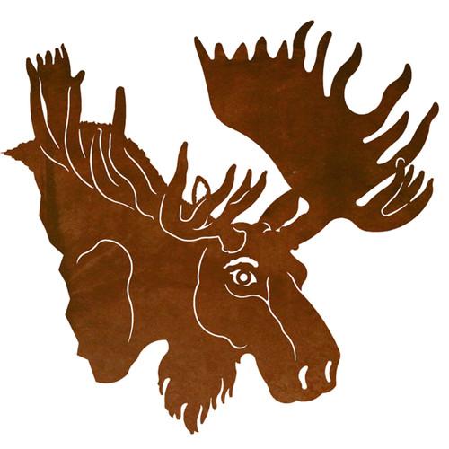 Moose Head Wall Art