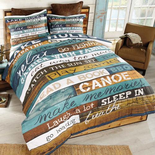 Lakeside Getaway Bedding Collection