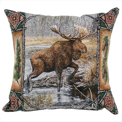Big Sky Moose Pillow