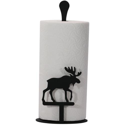 Moose Paper Towel Stand