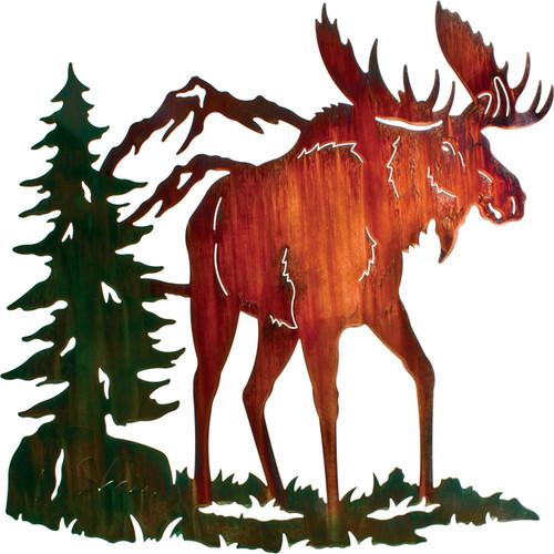 Moose Ridge Wall Hanging