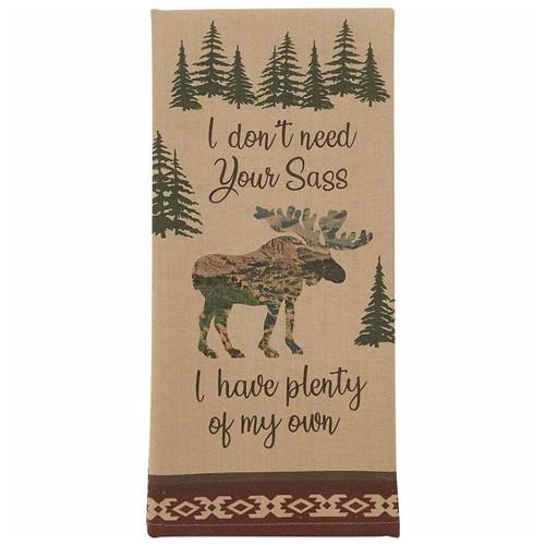 Moose Sass Printed Dishtowels - Set of 6