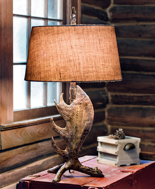Moose Shed Antler Table Lamp