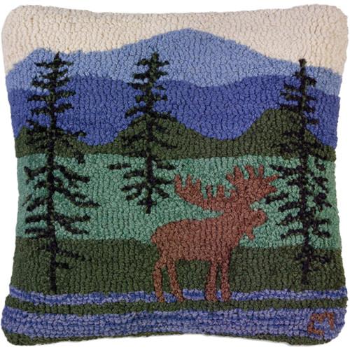 Moose Mountain Walk Pillow