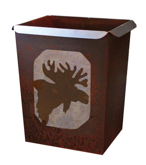 Moose Waste Basket