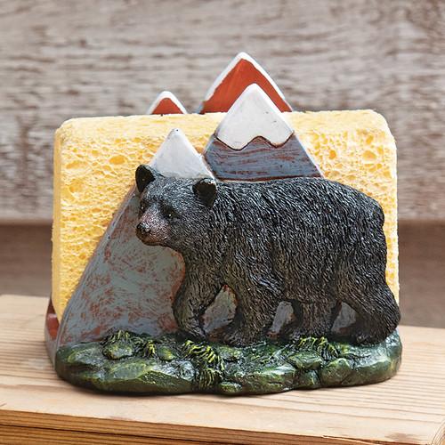 Mountain Bear Kitchen Sponge Holder