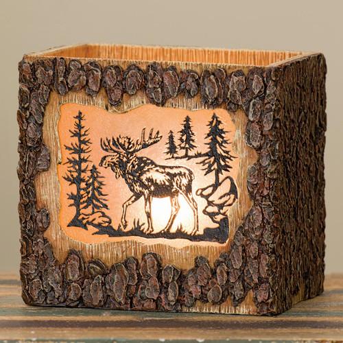Mountain Moose Bark Nightlight