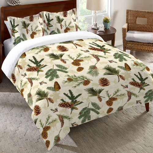 Pinecones and Wildlife Bedding Collection