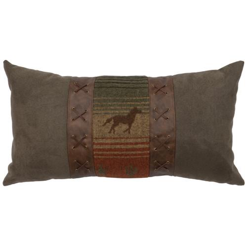 Mustang Canyon II Horse Lumbar Pillow