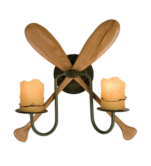 Paddle 2-Light Wall Sconce