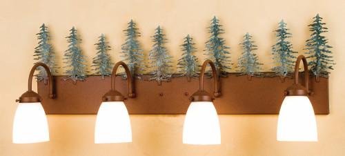 Tall Pines Four Light Vanity
