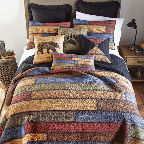 Vintage Woods Quilt Bedding Collection
