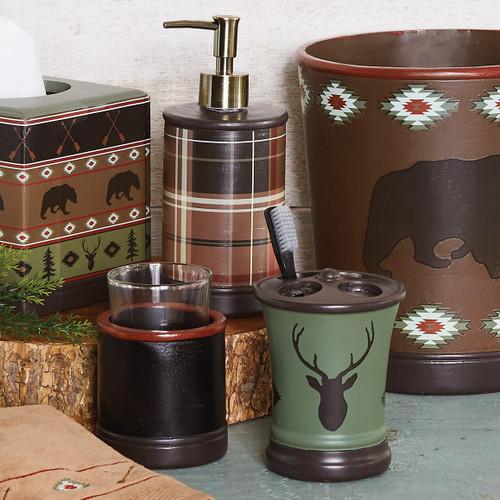 Native Wildlife Bathroom Set (3pcs)