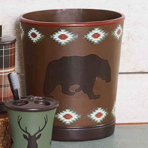 Native Wildlife Waste Basket